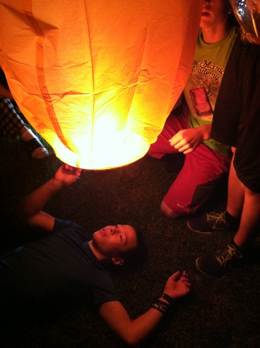 Launching Sky Lanterns for your Next Night Activity