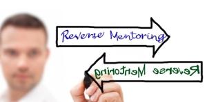 reverse mentoring words