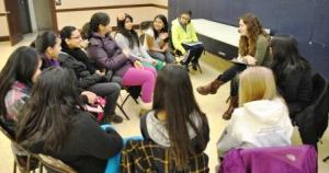 girls group discussion