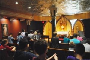 examen during adoration