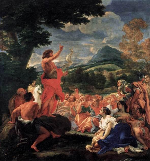 Preaching John Baptist